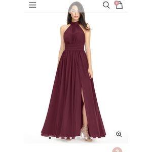 Azazie Bridesmaid dress A10 Cabernet